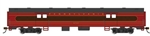 Bachmann 14406 HO 72' Smooth-Side Baggage Pennsylvania 6707 Fleet of Modernism Tuscan