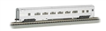 Bachmann 14754 N 85' Fluted-Side Coach w/Lights Painted Unlettered