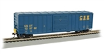 "Bachmann 14904 HO ACF 50'6"" Outside-Braced Boxcar w/ Flashing Rear End Device FRED CSX #129782"