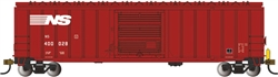 "Bachmann 14906 HO ACF 50'6"" Outside-Braced Boxcar w/ Flashing Rear End Device FRED Norfolk Southern"