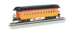 Bachmann 15101 HO Old Time Wood Coach w/ Round-End Clerestory Roof Western & Atlantic