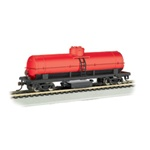BAC16303 Bachmann Industries HO Track Cleaning Tank Car, Oxide Red