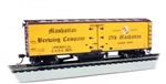 Bachmann 16334 HO Track Cleaning 40' Wood Reefer with Removable Dry Pad Manhattan Brewing Co. 9900