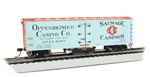 Bachmann 16335 HO Track Cleaning 40' Wood Reefer with Removable Dry Pad Oppenheimer Casing Co 8004