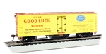 Bachmann HO 16336 Track Cleaning 40' Wood Reefer with Removable Dry Pad Jelke Good Luck Margarine 10812