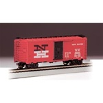 BAC17031 Bachmann Industries HO 40' Boxcar NH Red 160-17031