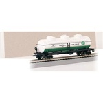BAC17137 Bachmann Industries HO 40' 3-Dome Tank Quaker St 160-17137