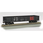 BAC17231 Bachmann Industries HO 40' Gondola NH #61072 160-17231