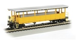 Bachmann 17432 HO Open-Sided Excursion Car w/Seats Series Durango & Silverton