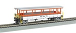 Bachmann 17435 HO Open-Sided Excursion Car w/Seats Ready to Run Royal Gorge Scenic Railroad 160-17435