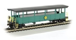 Bachmann 17445 HO Open-Sided Excursion Car w/Seats Series Cass Scenic Railroad 160-17445