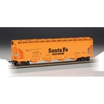 Bachmann 17502 HO 56' CF Hopper ATSF Orange 160-17502 BAC17502