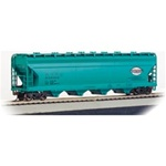 BAC17520 Bachmann Industries HO 56' CF Hopper NYC J.Grn 160-17520
