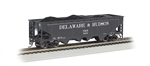 BAC17627 Bachmann Industries HO 40' Quad Hopper D&H #2 160-17627