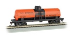 BAC17847 Bachmann Industries HO 40' SD Tank Car Simonin's 160-17847