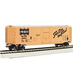 "Bachmann 18025 HO 50' Plug-Door Boxcar Series St. Louis San Francisco ""Ship It on the Frisco"" Slogan"