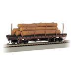 BAC18332 Bachmann Industries HO ACF Log Car w/Logs '06-35 160-18332