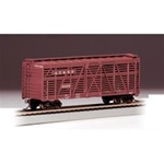 BAC18502 Bachmann Industries HO 40' Stock Car ATSF 160-18502