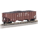BAC18702 Bachmann Industries HO 3-Bay 100T Hopper UP36255 160-18702
