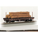 BAC18849 Bachmann Industries HO ACF Log Car w/Logs '35-60 160-18849