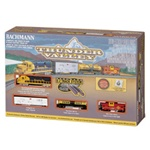 Bachmann 24013 N Thunder Valley Train Set Santa Fe