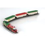 Bachmann 24017 N Spirit of Christmas Train Set