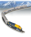 Bachmann 24023 N McKinley Explorer Train Set Alaska Railroad