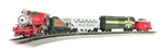 Bachmann 24027 N Merry Christmas Express USRA 0-6-0 3 Cars E-Z Track Circle Power Pack