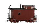 Bachmann 26566 On30 18' Wood Offset-Cupola Caboose Ready to Run Data Only oxide red 160-26566
