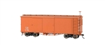 Bachmann 27098 On30 Wood Boxcar Spectrum Data Only Mineral Red 160-27098
