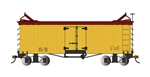 Bachmann 27495 On30 Reefer Data Only yellow 160-27495 BAC27495
