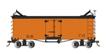 Bachmann 27497 On30 Reefer Data Only orange 160-27497 BAC27497