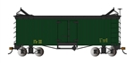 Bachmann 27498 On30 Wood Reefer Data Only green 160-27498