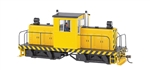 Bachmann 29203 On30 Whitcomb 50-Ton Center-Cab w/DCC Spectrum Painted Unlettered Yellow Black Stripes