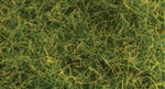 "Bachmann 31001 Pull-Apart Static Grass Sheet/Mat SceneScapes Wild Grass 1/4"" Tall Fibers 11 x 5-1/2"" Sheet"