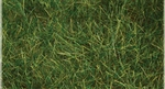 "Bachmann 31002 Pull-Apart Static Grass Sheet/Mat SceneScapes Dark Green 1/4"" Tall Fibers 11 x 5-1/2"" Sheet"