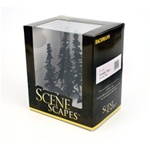 "Bachmann 32003 HO Conifer Trees SceneScapes 5 to 6"" pkg 6"