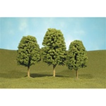 "Bachmann 32006 HO Deciduous Trees SceneScapes 3 to 4"" pkg 3"