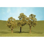 "Bachmann 32008 HO Elm Trees SceneScapes 3 to 4"" Pkg 3"