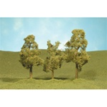"Bachmann 32009 HO Sycamore Trees SceneScapes 3 to 4"" 7.6 to 10.2cm pkg 3 160-32009"