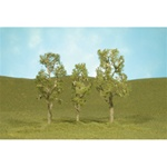 "Bachmann 32010 HO Aspen Trees SceneScapes 3 to 4"" pkg 3"