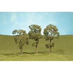 "Bachmann 32011 HO Maple Trees SceneScapes 3 4"" pkg 3"