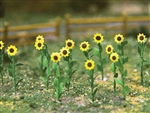 "Bachmann 32506 HO Sunflowers 1"" Tall Pkg 16"