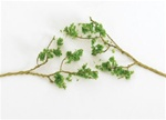 "Bachmann 32645 SceneScapes Wire Foliage Branches Light Green 1 to 3"" Long pkg 60"