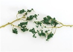 "Bachmann 32646 SceneScapes Wire Foliage Branches Dark Green 1 to 3"" Long pkg 60"