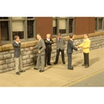Bachmann 33112 HO Businessmen SceneScapes Pkg 6