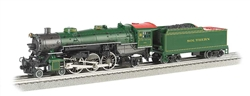 Bachmann 40802 O 4-6-2 Pacific Conventional 3-Rail w/True Blast Plus Whistle & Bell Southern Railway #1409 160-40802