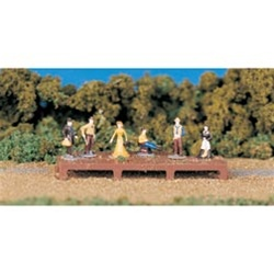 Bachmann 42335 HO Figures Old West People Pkg 6