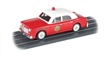 Bachmann 42736 O Operating Fire Chief's Car E-Z Street Fire Department Red White