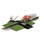 Bachmann 44579 HO Dual Crossing Gate E-Z Track Deluxe Version